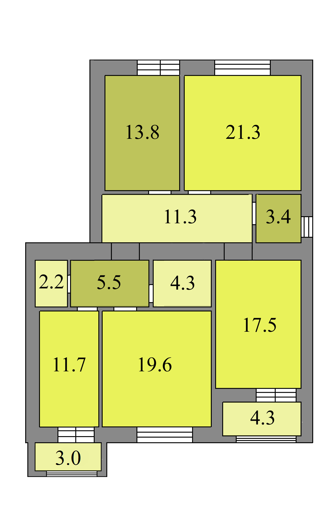 Коммерческое помещение по ул. Осенняя дом 6Б, LX
