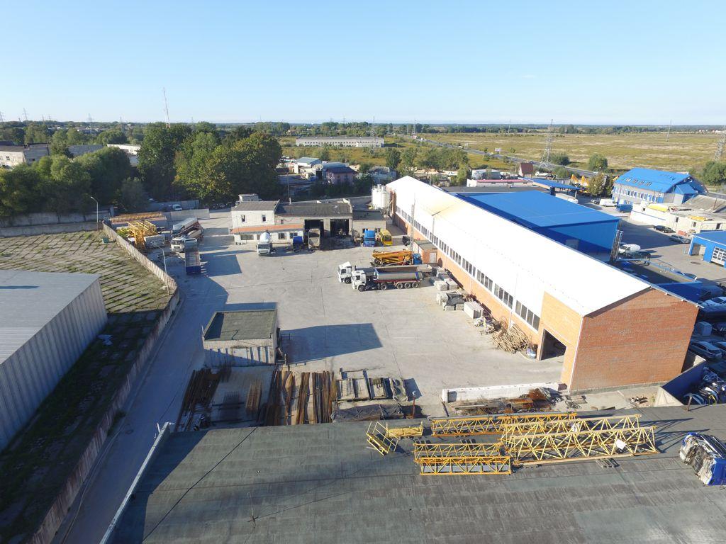 Производственная база с заводом ЖБИ 10 000 кв.м.